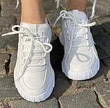 Кросівки зимові жіночі білі, фото 2