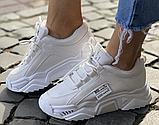 Кросівки зимові жіночі білі, фото 5