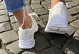 Кросівки зимові жіночі білі, фото 7
