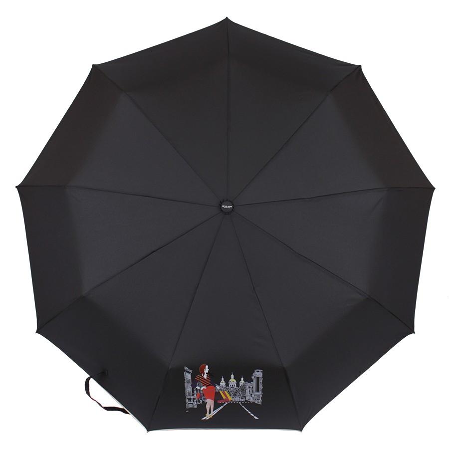Зонт складной de esse автомат Дорога
