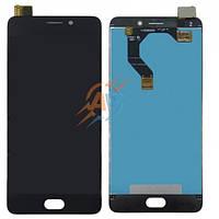 Дисплей и сенсор (дисплейный модуль) для Meizu M6 note black + подарок