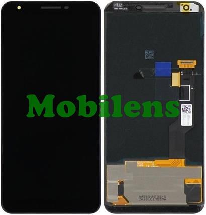 Google Pixel 3A XL Дисплей+тачскрин(модуль) черный, фото 2