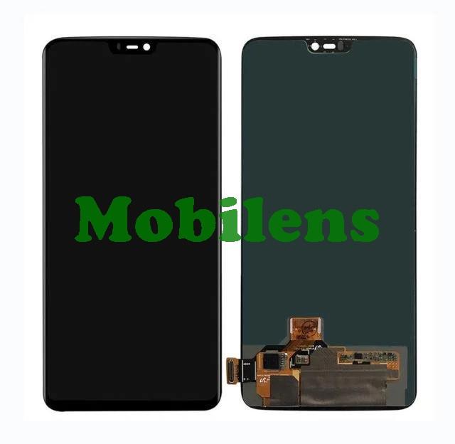 OnePlus 6 Дисплей+тачскрін(модуль) чорний HighCopy (OLED)