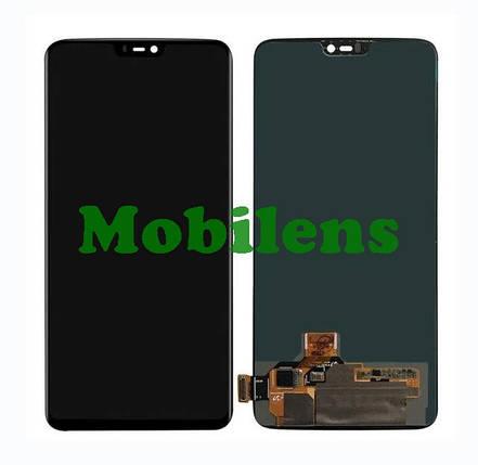 OnePlus 6 Дисплей+тачскрін(модуль) чорний HighCopy (OLED), фото 2