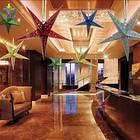 Звезды объемные для декора  25 см., малиновая, фото 5