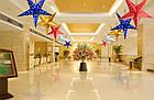 Звезды объемные для декора  25 см., малиновая, фото 6