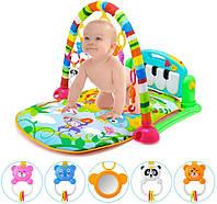 Детский развивающий игровой коврик, музыкальный, 70*46 см, HE0603
