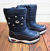 Теплі термо чоботи для дівчинки Том.м