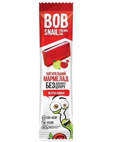 Натуральный мармелад яблоко-вишня Bob Snail (Улитка Боб)