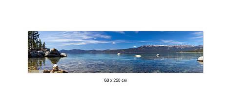 Скинали с фотоизображением лазурный берег, камни, горы, природа Самоклейка 60 x 200 см, фото 2