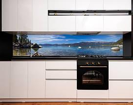 Скинали с фотоизображением лазурный берег, камни, горы, природа Самоклейка 60 x 200 см, фото 3