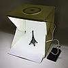 Световой лайткуб (фотобокс) с LED подсветкой для предметной макросъемки 40*40*40см + чехол, фото 4