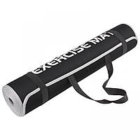 Коврик для тренировок LiveUp Neoprene Eva Mat 180х60х0.6 см Black (LS3258)