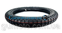 Покрышка на мопед 2.75-17 шип 4 PR камерная Дельта / Альфа Вьетнам, фото 3