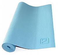 Коврик для йоги LiveUp Yoga Mat 173x61x0.4 см Blue (LS3231-04b)