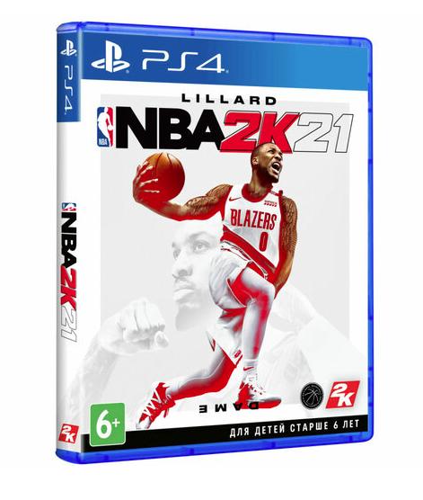 Игра NBA 2K21 для PlayStation 4