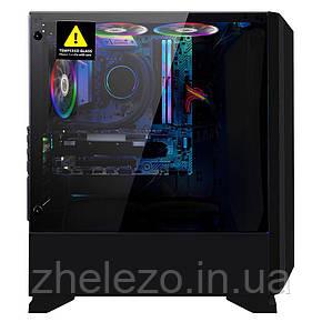 Корпус 1stPlayer Rainbow R6-R1 Color LED Black без БЖ, фото 2