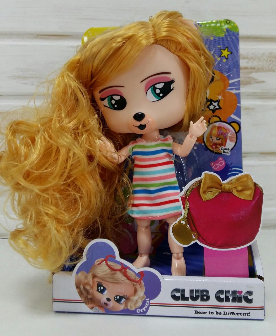Детская игрушка для девочек Кукла питомец шарнирная 01912