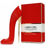 Женские духи Carolina Herrera Good Girl Red 80ml EDT (Парфюм Каролина Эррера Гуд Герл Ред) Красная туфелька