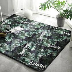 Ковер на пол для спальни, зала в тропическом стиле