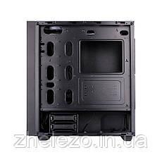 Корпус 1stPlayer P7-G1 RGB LED Black без БП, фото 3