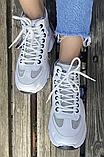 Кроссовки зимние женские бежевые, фото 4