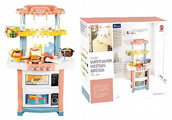 Детский игровой набор интерактивная кухня супермаркет Western Kitchen с водой 83 см