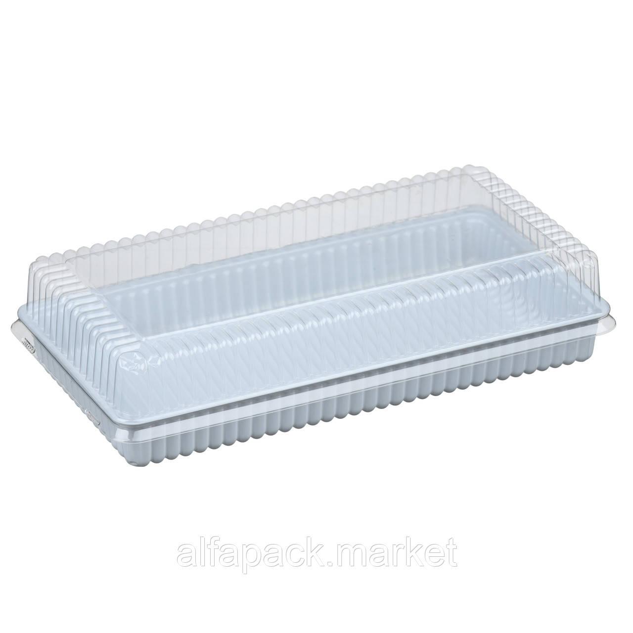Упаковка для кондитерских изделий ПС-62 (дно+крышка) (300 шт в упаковке) 010100138