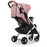 Детская прогулочная коляска книжка детская коляска люлька универсальная El Camino Yoga II M 3910 Pale Pink-W, фото 7