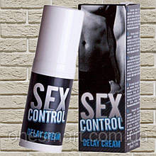 "Крем пролонгатор для мужчин ""Sex control"" от RUF 30 мл. (Франция)"