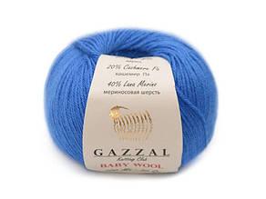 Gazzal Baby Wool, электрик №830