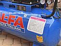 Компрессор воздушный Al-Fa ALC100-2R масляный 100л 660л/мин ременной, фото 7