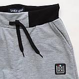 Спортивные штаны для мальчика р.128,134,140,146,152,158 SmileTime Reflective, серые, фото 4