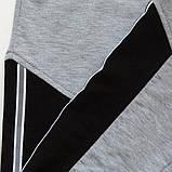 Спортивные штаны для мальчика р.128,134,140,146,152,158 SmileTime Reflective, серые, фото 6