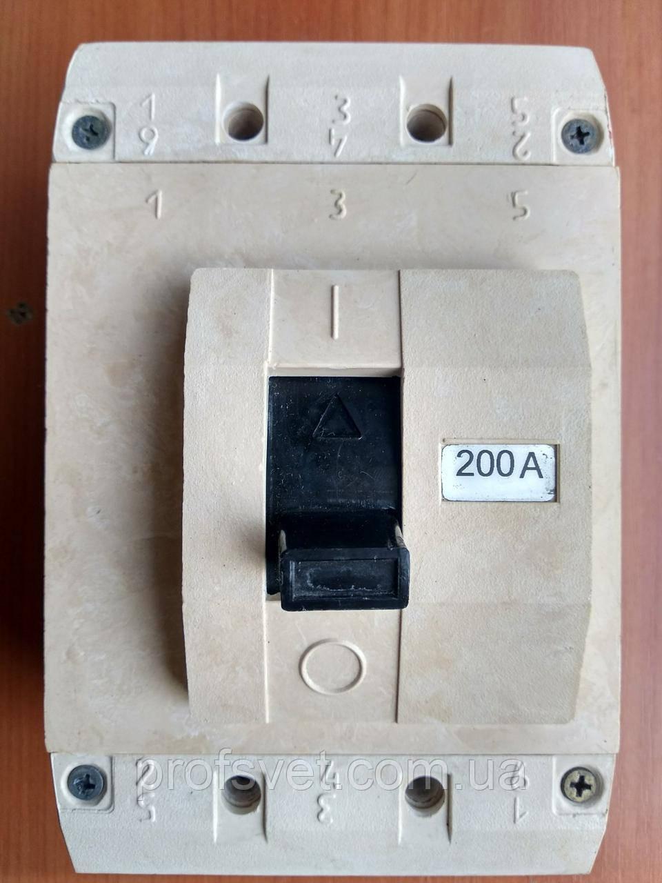 Выключатель автоматический ВА04-36 200А