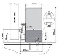 Комплект привода для откатных ворот до 500кг — ASL500KIT, фото 2