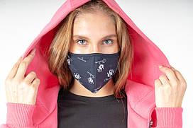 Комплект из пяти защитных многоразовых масок
