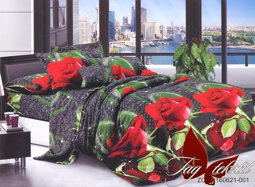 Полуторный комплект постельного белья Ранфорс R621