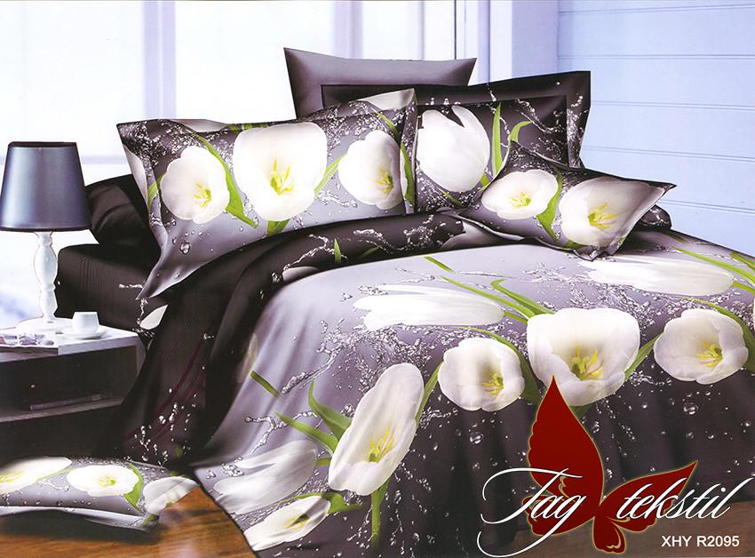 Двуспальный комплект постельного белья Ранфорс R2095