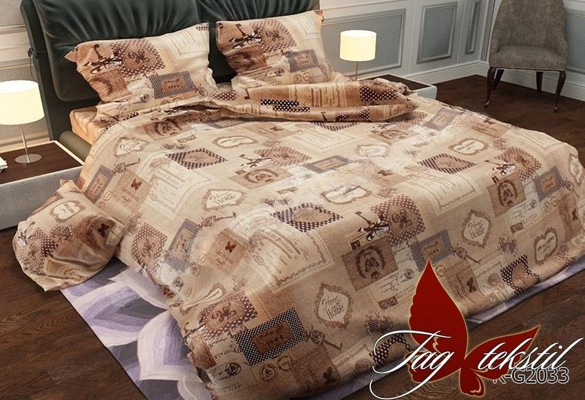Полуторный комплект постельного белья Ранфорс RG2033