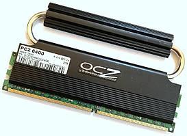 Игровая оперативная память OCZ Reaper DDR2 2Gb 800MHz PC2 6400U CL4 2.2В 2R8 (OCZ2RPR800C44GK) Б/У
