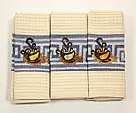 Набор 6 шт. вафельных  полотенец Чашка, фото 2