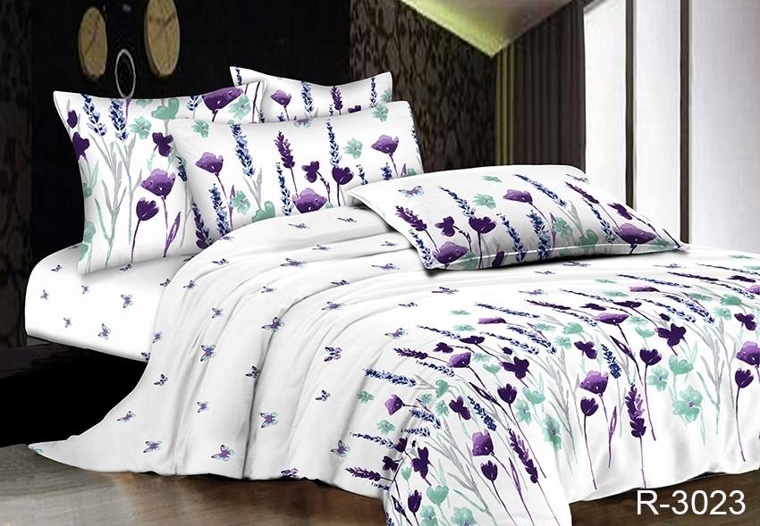 Полуторный комплект постельного белья Ранфорс R3023