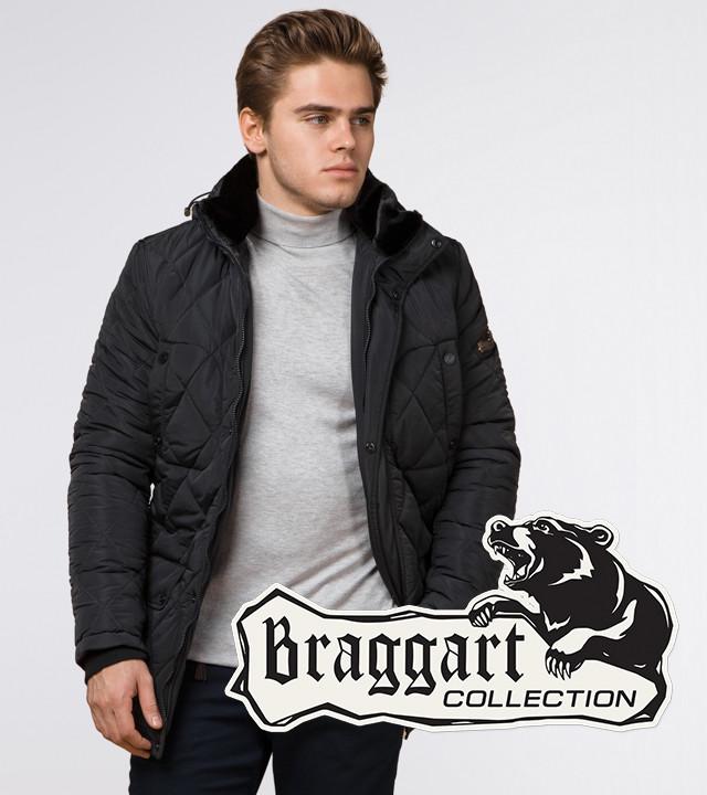 Braggart Dress Code 44842 | Мужская стеганая куртка графит