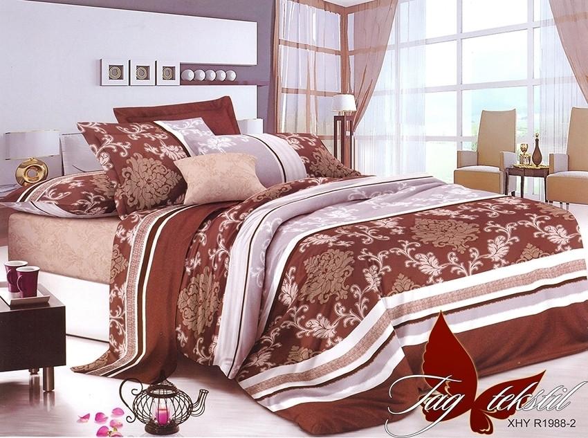 Полуторный комплект постельного белья Ранфорс R1988