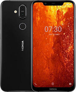 Смартфон Nokia 8.1 6/64GB Iron/Steel