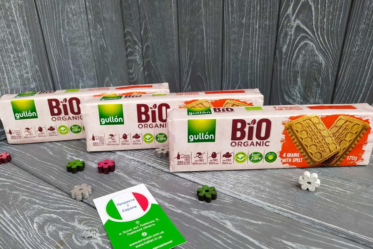 Печиво Gullon Bio Organic 170 г