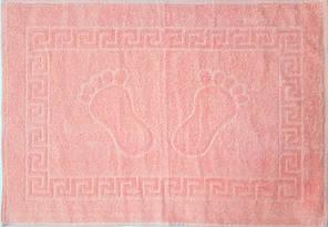 ТМ TAG Полотенце махровое для ног   50 х 70 розовое  Турция