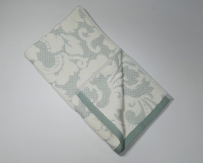 ТМ TAG Рушник махровий Nanette зелене