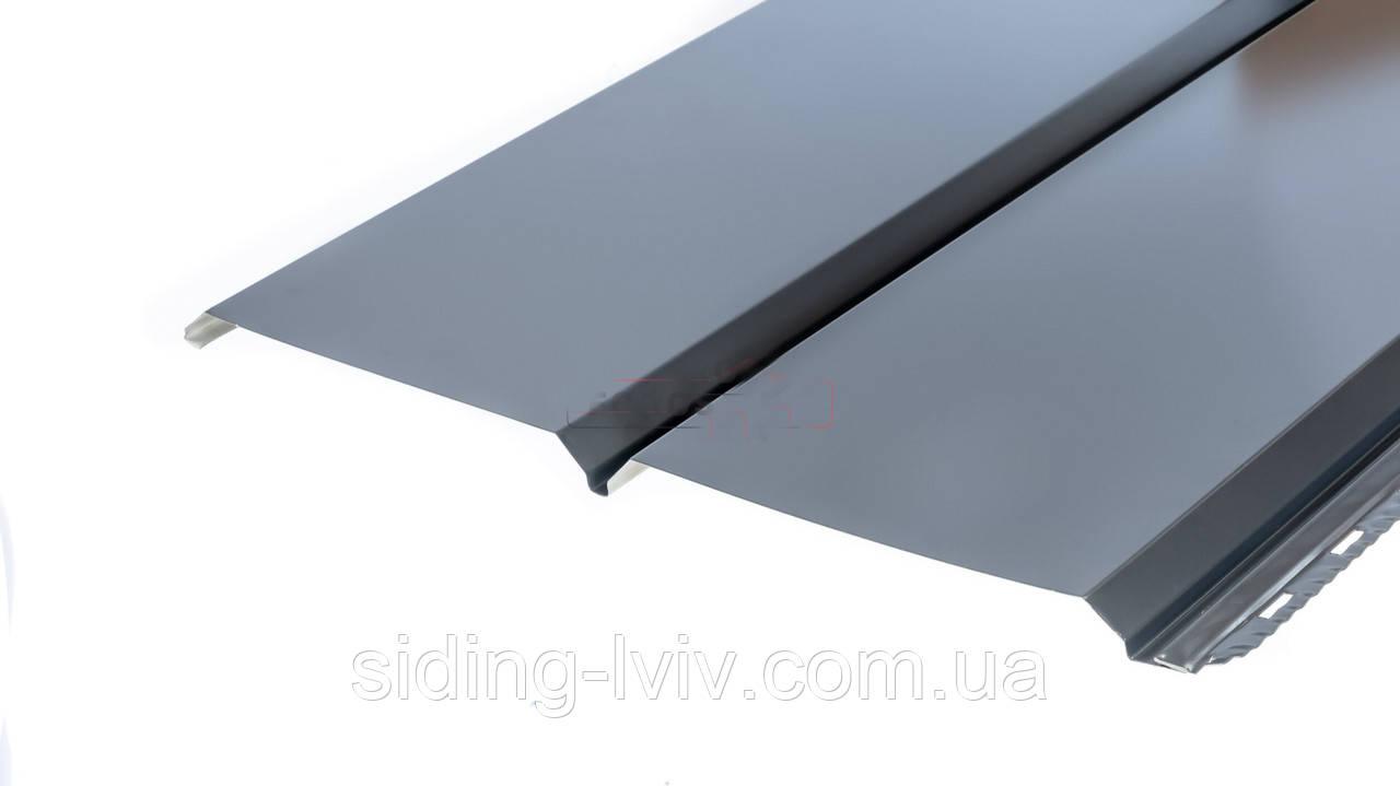 Софіт металевий для підшивки даху мат Німеччина (гладка,перферована)